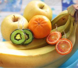 Decoupage con frutta